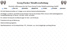 Tablet Preview of g-f-metall.de